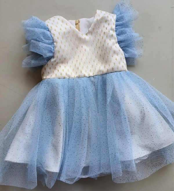 frozenblue kidsdress